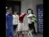 В перерыве Денис Глушаков и Лионель Месси обменялись футболками.