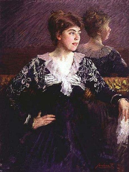 Итальянский художник Маттео Sandonà (1881 – 1964)