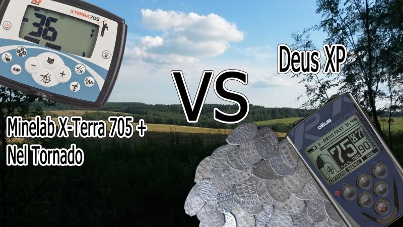 Minelab X-Terra 705 vs XP Deus 9