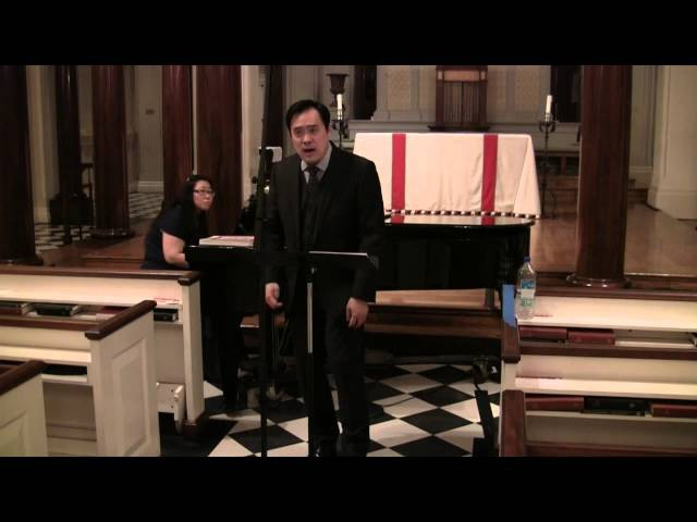 'Soupir' by Maurice Ravel (Phillip Cheah, countertenor; Trudy Chan, piano)
