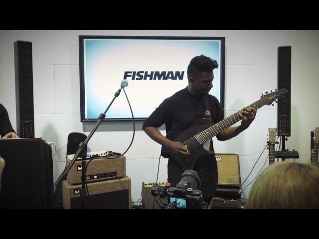 Tosin Abasi Live @ NAMM FIshman Fluence Signature Series (Part 2)
