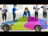 Five Bad Baby Jumping on the bed Nursery Rhymes for Children Simple songs for babies