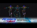 Light Balance: Dance Group Lights Up The Stage With Awesome Routine - America's Got Talent 2017