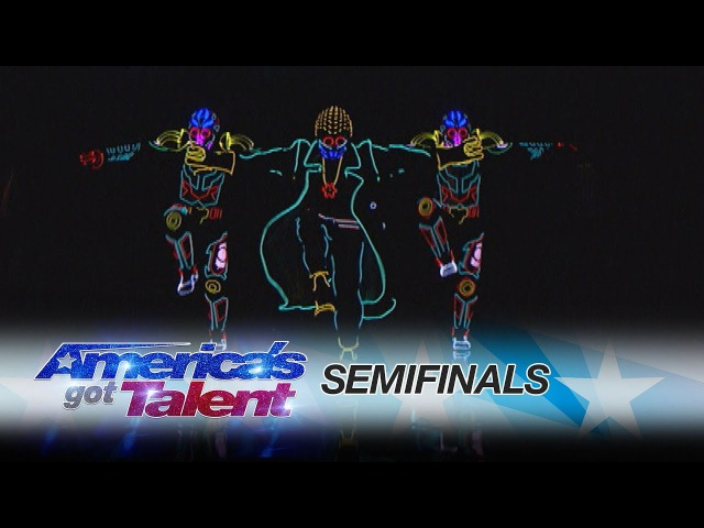 Light Balance Dance Group Lights Up The Stage With Awesome Routine - Americas Got Talent 2017