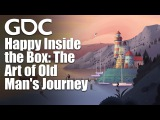 Happy Inside the Box The Art of Old Man's Journey