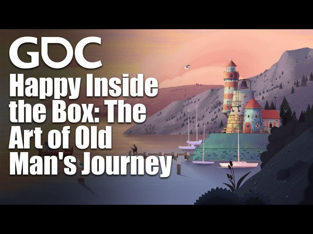 Happy Inside the Box: The Art of Old Man's Journey