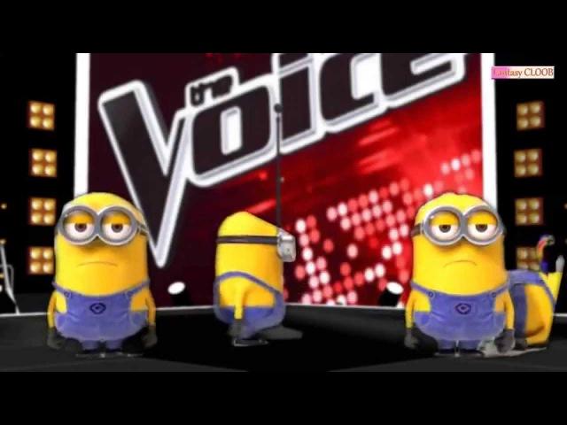 Minions - BANANA (La Voz MMD) Halftime Show