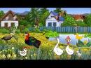 Весёлые Потешки для детей - Как говорят домашние животные