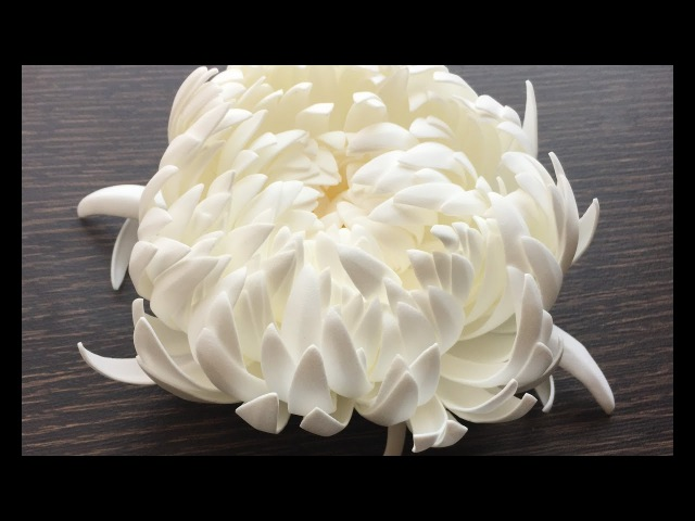 Crisantemo Goma Eva 0,8mm