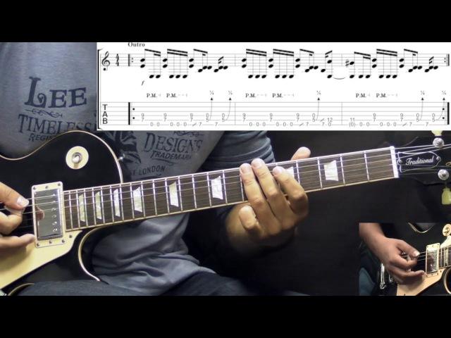 Led Zeppelin - Whole Lotta Love - Rock Guitar Lesson (w/Tabs)