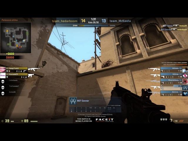 Insane CS:GO bot ace on faceit