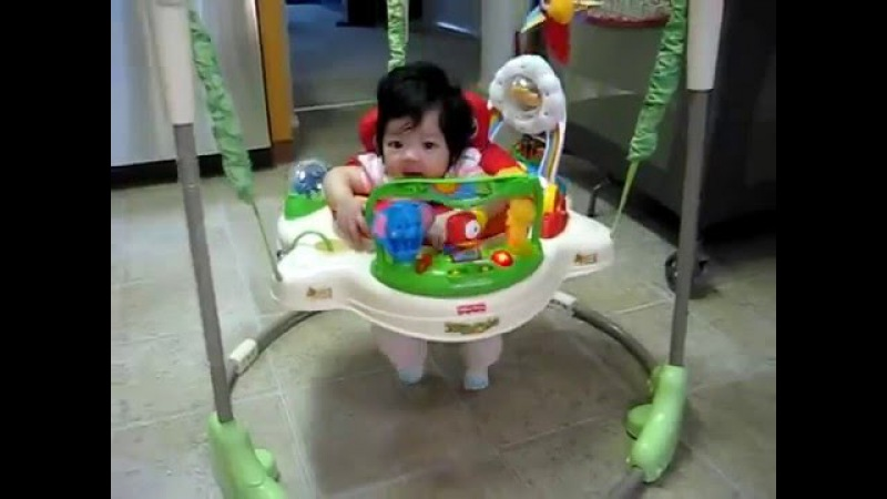 A Must-See 1 Best of the Best Jumperoo! _ 4 months old baby _ Uploaded on Sep 7, 2011