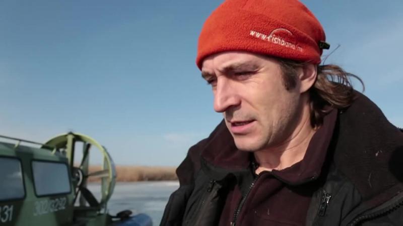 Зимняя дельта Волги. HD версия.