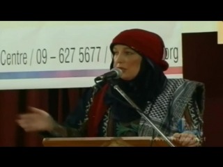 Yvonne Ridley - Taliban Prisoner Converts To Islam - FULL LECTURE[via torchbrowser.com]