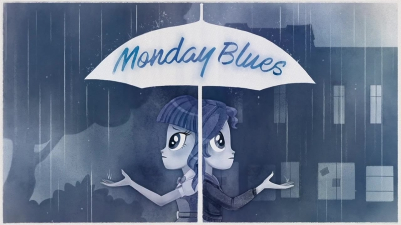 MLP_ Equestria Girls - Sunset Shimmers 'Monday Blues' Official Music Video