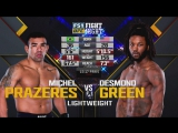UFC FIGHT NIGHT 125 Michel Prazeres vs. Desmond Green