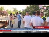 В Симферополе прошли акции, пропагандирующие здоровый образ жизни По статистике, каждый сотый человек на планете в любую минуту