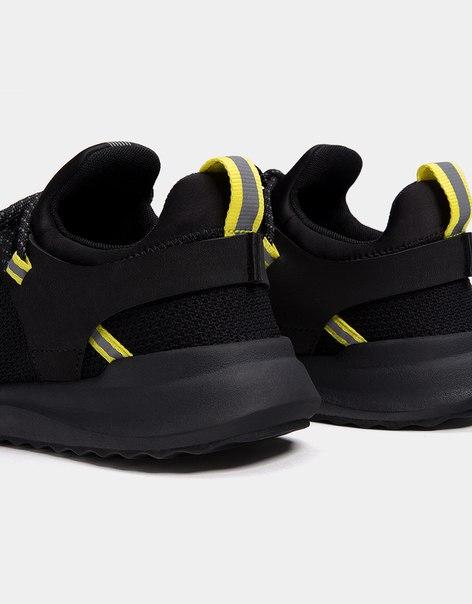Мужские кроссовки из высокотехнологичной ткани с неоновыми деталями