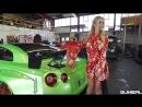 PORNSTAR Mareike Fox her new Pandem Rocket Bunny V2 Nissan GT R
