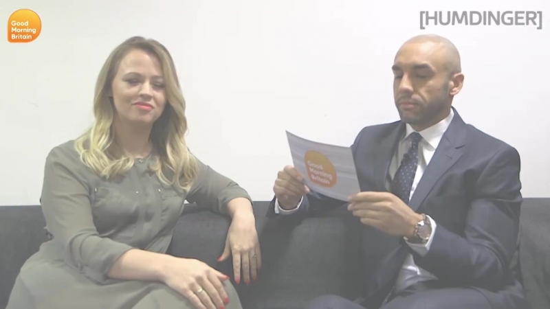 Hum-Dinger How Clued-Up is Kimberley Walsh Good Morning Britain
