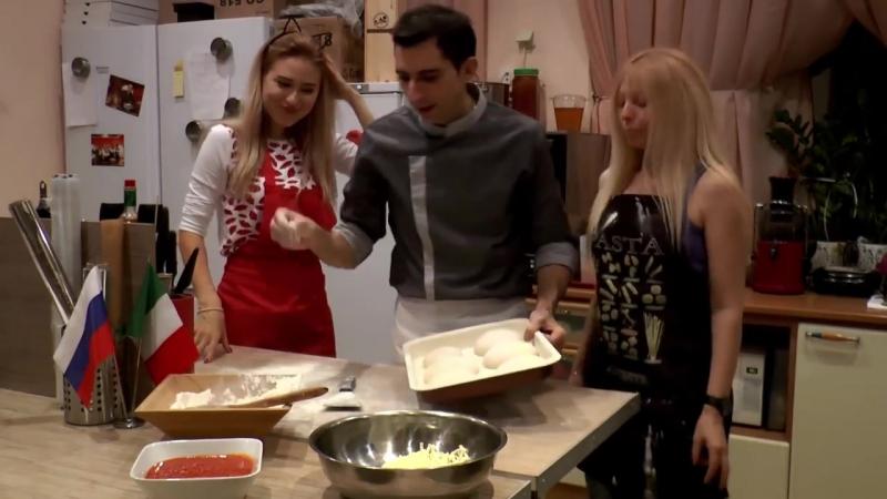 Это действительно лучший мастер класс по приготовлению пиццы в домашних условиях смотреть онлайн без регистрации