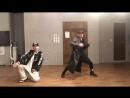 本日のダンスレッスン動画です!_好きな感じのHIPHOPで楽しかった〜_nerd__sparkles__最後NAOKI先生を蹴るのは演出です。笑__良かったらRTお願いします〜_horns_sign_ ht MQ
