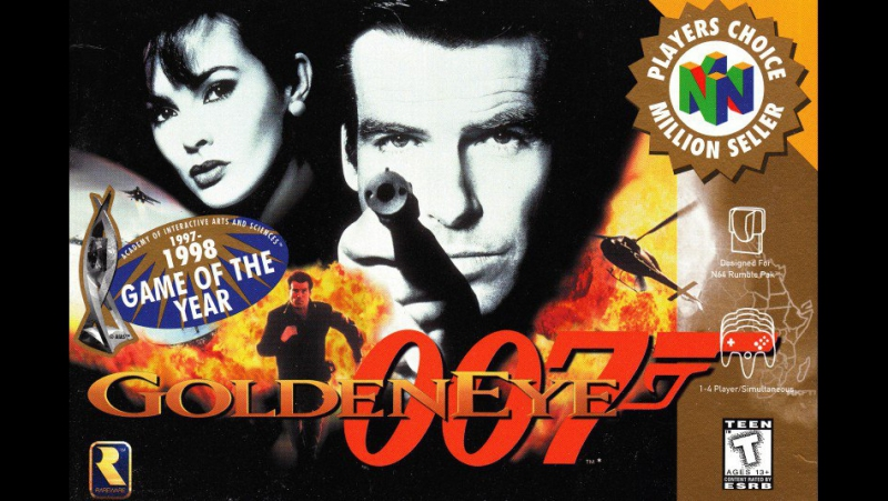 Прохожу GoldenEye 007 (Nintendo 64) Part 1