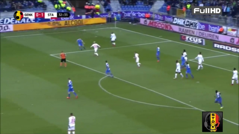 KRC Genk VS Standard de Liège (LIVE FR) 26_11_2017 (Journée 16) HD