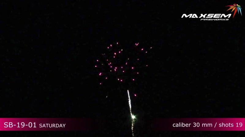 10 Maxsem Fireworks SB-19-01 SATURDAY