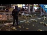 Взрыв около АЗС в Москве