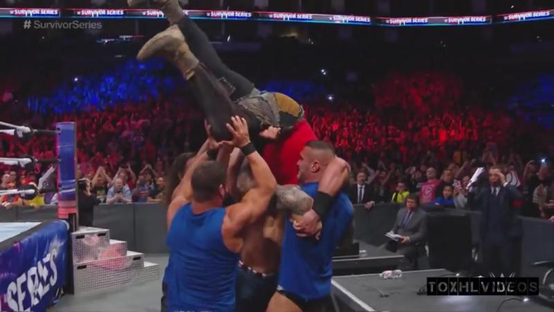 Team RAW Vs Team Smackdown Highlights - Survivor Series 2017