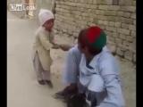 Ребёнок встал на защиту пернатого друга
