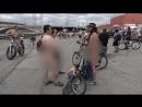 Голышом по городу - в Лос Анджелесе на улицы выехали нагие велосипедистыzhopy