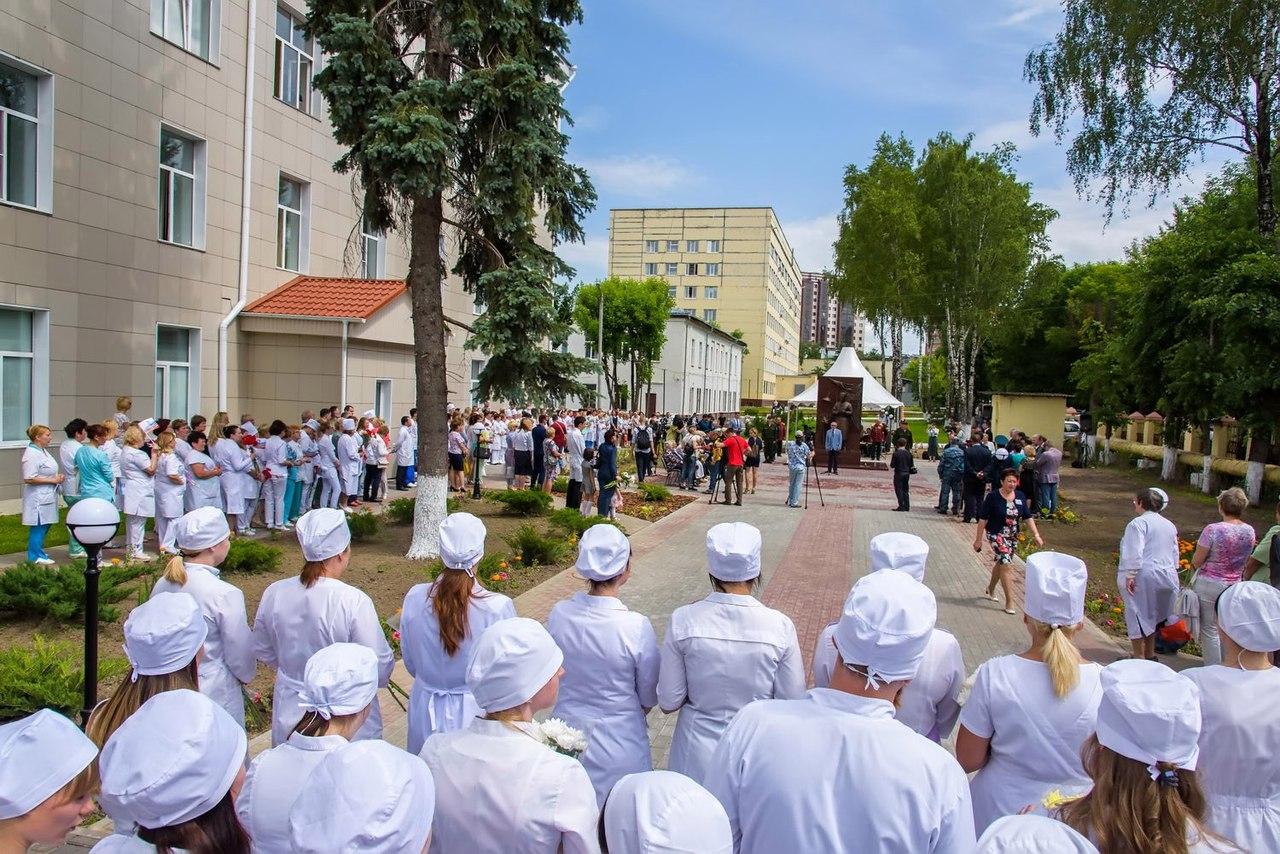 Открытие монумента  фронтовому хирургу состоялось вКалуге