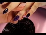 Нежные пёрышки в тёмно-фиолетовом! Это просто вааау