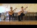 Дуэт ГоголенкоВл. и Ганцев А. А Корелли. Адажио и Гавот из сонаты для скрипки Ми-мажор