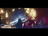 Сцена сражения в тронном зале из «Звездных войн: Последние джедаи» / Star Wars 8