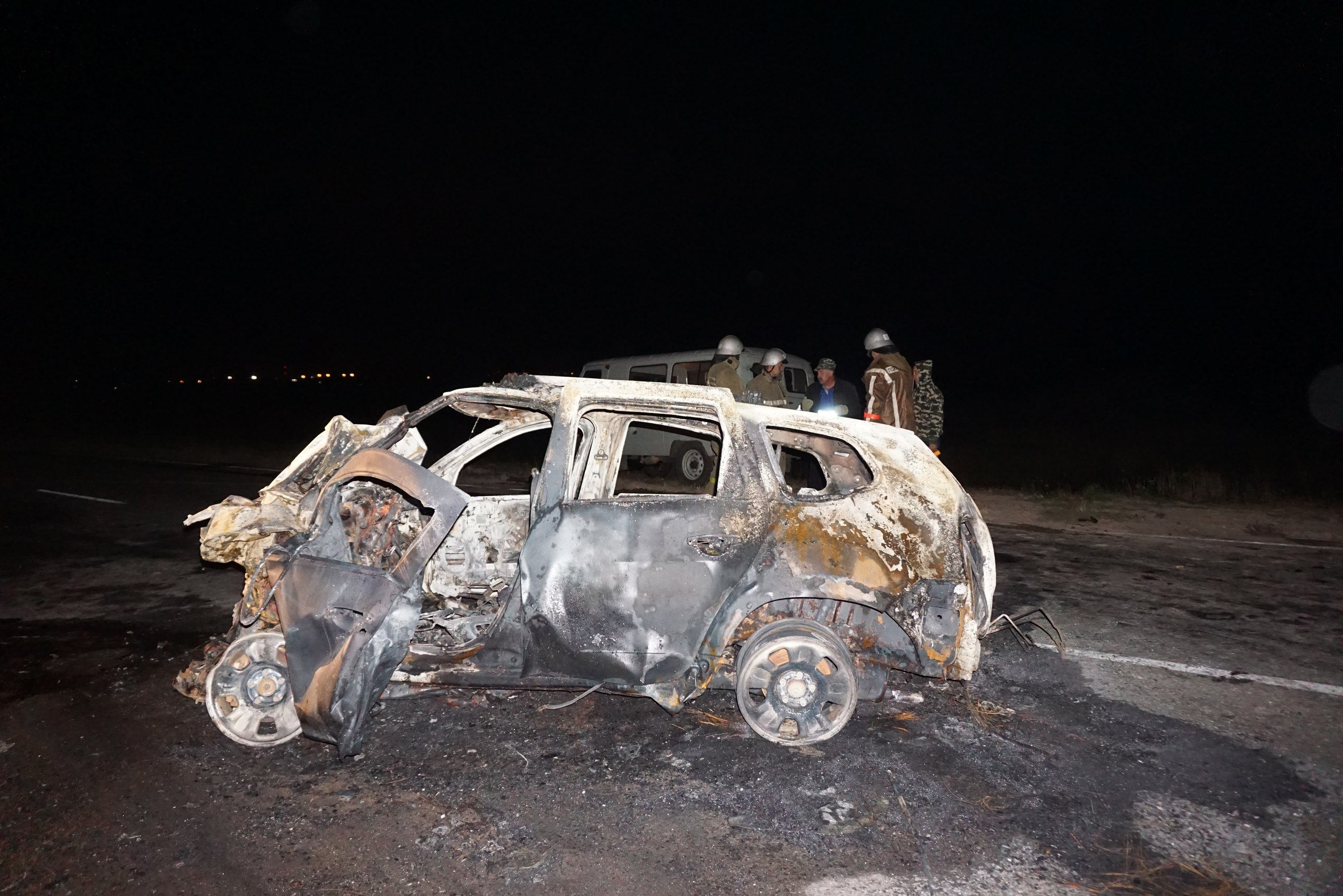 Под Курском в ДТП с четырьмя автомобилями погибли два человека