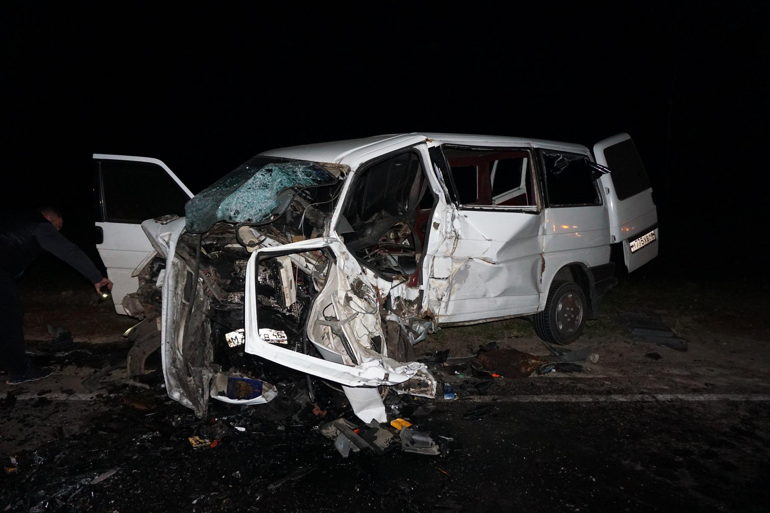 Всмертельном ДТП вКурской области погибли два человека