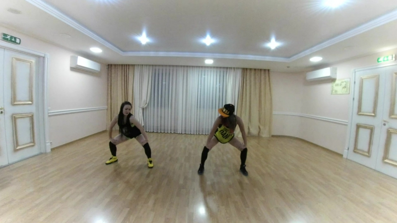 HOT DANCE FIT dance подойди по ближе детка / ЮЛЯ И ВИКА