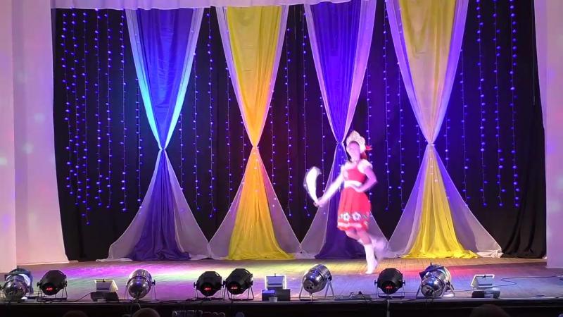 Вероника Карпова - танец Сапожки русские