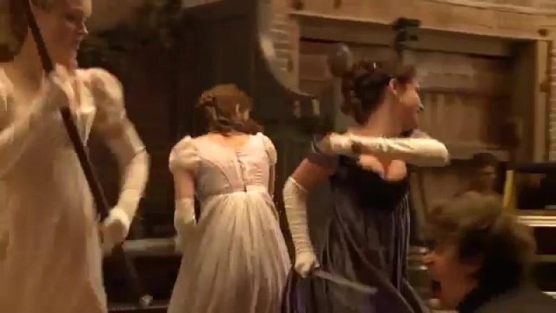 Съемки одной из сцен «Гордость и предубеждение и зомби» (2)