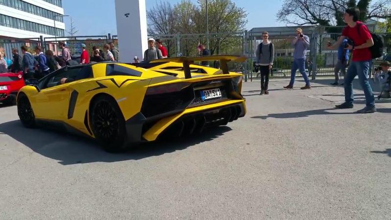 Novitec Lamborghini Aventador SV LP 750-4 (SuperVeloce) with 786 PS Exhaust Star
