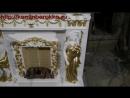 Портал камина Атлант и Кариатида из Белого Мрамора. Цена 80 000руб.
