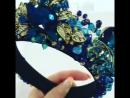 Новинка😍Тира Морская волна🌊потрясающе подчёркивает голубые глазки🦋идеально дополнит ваш образ на свадьбу, корпоратив, день рож