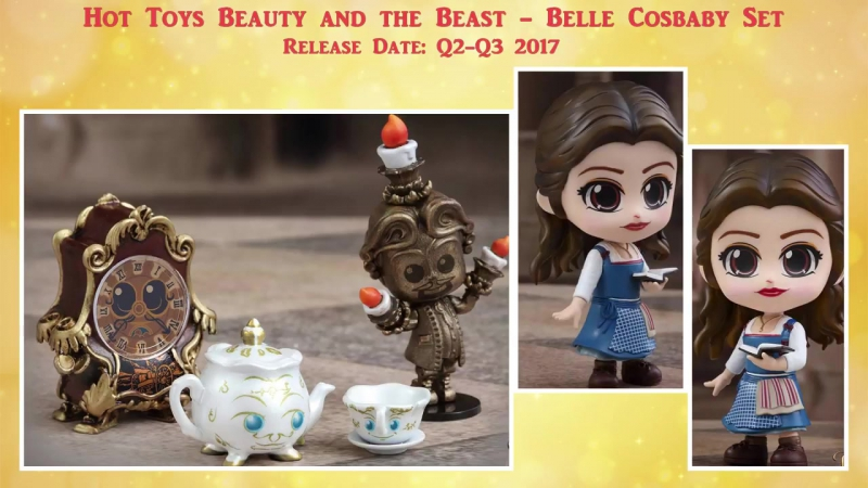 New Beauty and the Beast princess Belle dolls- Pullip, Hot Toys, Nendoroid and more