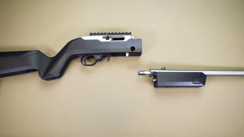 Ложа-трансформер для винтовки Ruger 1022 Takedown от компании Magpul