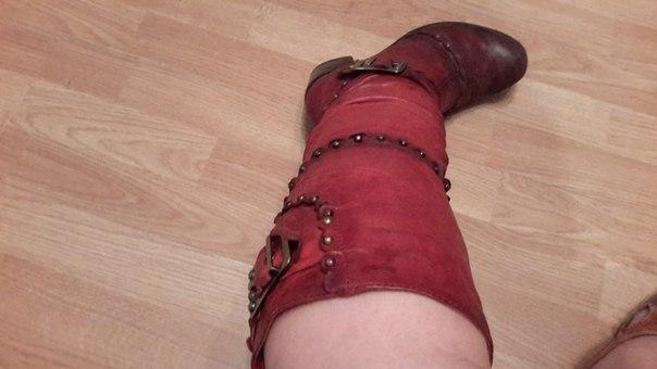 #обувь@bankaKomi натуральная кожа и мех , хорошее состояние р.37 , 15