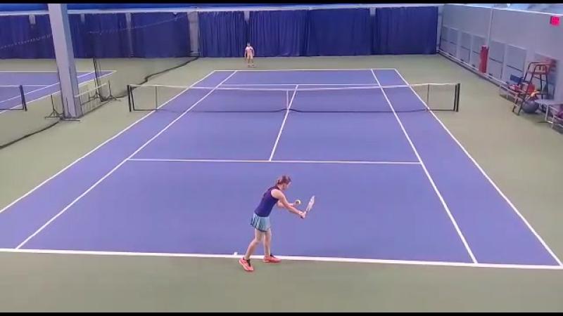 Марта Узулиня – восходящая звезда большого тенниса!