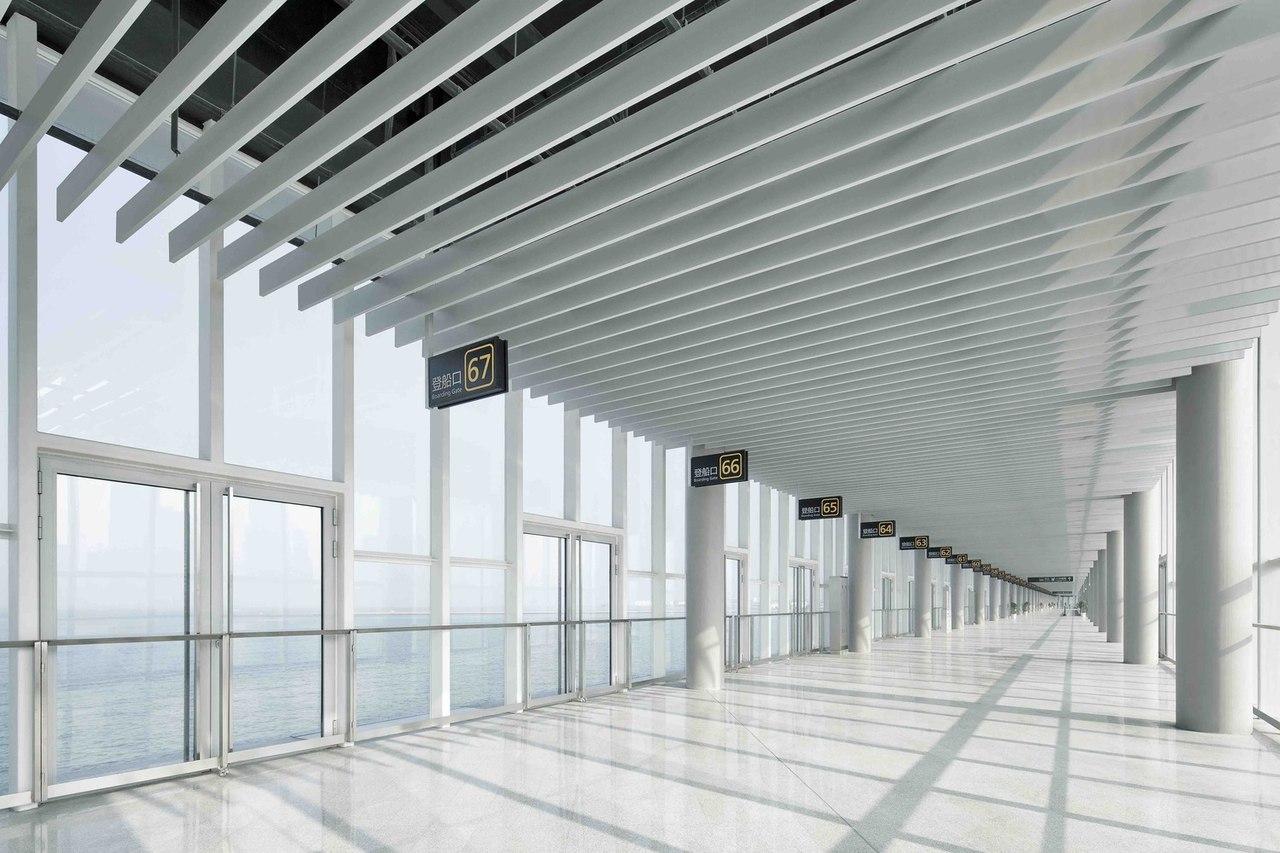 Qingdao Cruise Terminal / CCDI — Mozhao Studio